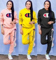womens 2 piece set tracksuit shirt pants outfits long sleeve...