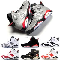 2019 New Bred Black Infrared 6 6s Basketball Shoes JSP Refle...