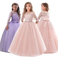 Summer Girls Dress Party Wedding Dress Kids Dresses For Girl...