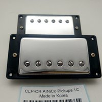 high quality Alnico 5 Pickups Electric Guitar Chrome WHITE H...