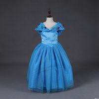 SamGami Bebek Yaz Bebek Kız Çocuk Çocuk Parti Düğün Prenses Cosplay Kıyafeti Kelebek Madeni Pul Külkedisi Elbise