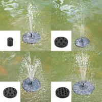 الطاقة الشمسية نافورة فرش مضخة مياه حديقة النباتات الطيور حمام نوافير للأكسجين تداول حوض للأسماك الحوض الغاطسة بركة