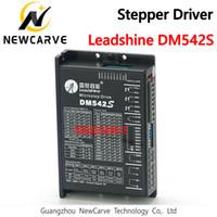 NEMA23 NEMA17 57mm의 42mm 하이브리드 스테퍼 모터를 들어 DM542S LEADSHINE 새로운 2PH 4.2A DC 드라이버 DM542 M542 M542C NEWCARVE 교체