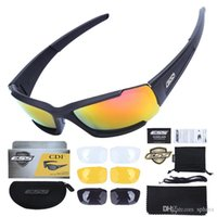 ESS CDI Polarized Tactical Sunglasses 4 Lens Cycling Anti UV...