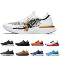 2019 뜨거운 새로운 서사시 반응 인스턴트 s0uth 유니섹스 실행 신발 남성 벨기에 진정한 레이서 블루 백금 여성 운동 스포츠 스니커즈 36-45
