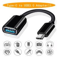 Type C USB 3.1 mâle à OTG type A femelle Adaptateur OTG Cordon Câble pour Samsung Smartphone Huawei LeTV