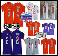 Clemson Tigers Trevor Lawrence Jersey Fußball Travis Etienne Jr. Hunter Renfrow Sammy Watkins Higgins Justyn Ross 2019 150. Fiesta Bowl