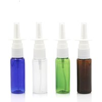 20ml colorful PET nasal spray bottle Refillable Bottles spra...
