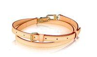 Top Grade Bag Parte Genuine Bezerro de couro ajustável alça de ombro de 16 mm VVN J52312 Oxidate na cor mais escura da patina ao longo do tempo