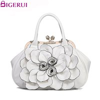 DIGERUI Flying birds designer women handbag 3D flower high q...