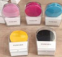 미니 클렌저 미니 전기 초음파 미용 기기 실리콘 방수 클렌저 깨끗한 5 색 전달 클렌징 도구 모공.