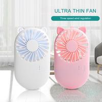 breif mani Volante ventilatore ricaricabile Mini ventilatore Mini USB portatile per la casa e l'ufficio di viaggio