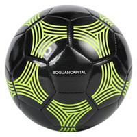 Bola de Futebol de futebol Tamanho 4 Bola de Futebol Jogo de Futebol Da Equipe de Treinamento de Futebol Adulto Kick Equipment Kid Presente 2019