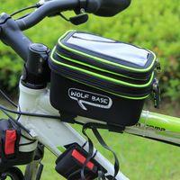 Impermeável moto saco feixe sela saco de montanha frente moto saco de telefone celular equipamento de ciclismo ao ar livre
