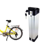 Free AU EU US Electric folding Silver fish Bicycle Battery 3...