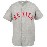 멕시코 시티 붉은 악마 1964로드 저지 100 % 스티치 자수 로고 빈티지 야구 유니폼 사용자 정의 모든 숫자 무료 배송