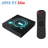 A95X F3 Magro Smart TV Box Android 9.0 8K Amlogic S905X3 USB3.0 2.4 + 5.0G WiFi Media Player PK X96 Air