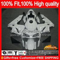 Injection OEM Pour le stock blanc HONDA CBR 600RR 600F5 chaud CBR600F5 CBR600 RR 03 81HC.3 CBR600RR CBR 600 RR F5 03 04 2003 2004 100% Fit Carénage