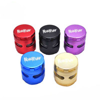 Honeypuff Grinder Herb Crushers Smoking 61mm 4 Layers Tobacc...