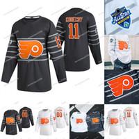 Carter Hart Filadelfia Flyers 2020 All Star Claude Giroux Sean Couturier Ivan Provorov Nolan Patrick 00 Gritty Voracek GostisBehere Jersey