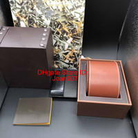 Best Quality Brown Color leathe Boxes Gift Box 1884 Watch Bo...