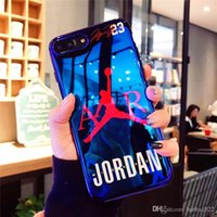 Flyman Jorda Case Cover for iPhone 7 6 6s 8 Plus Sport Blue-...