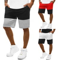 Fashion2019 Homem Lazer Tempo Movimento Magro Soletrar Cor Bodybuilding Jogging Full Marcas Shorts