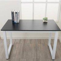 2022 Möbel Großhändler Heiße Verkäufe 110cm Ankasse Hohe Festigkeit Hölzerner Berechnung R Schreibtisch Braune Tabelle
