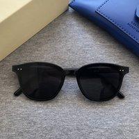 Güneş Gözlüğü 2021 Düz Lens Tasarımcı Kadın GM Moda Lady Seksi Güneş Gözlükleri Nazik Marka Orijinal Kutusu Paketi Lang