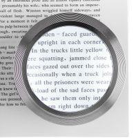 5X 데스크탑 실린더 K9 돋보기 렌즈 도구 돋보기 3 LED 조명 골동품보기 / 읽기 / 보석 식별