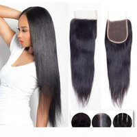 9a Brazilian Virgin Human Hair Weave Closures Body Wave Loos...