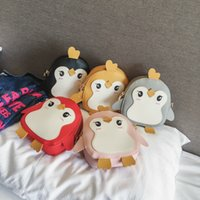 Kids Purses 2019 Newest Korean Cartoon Little Penguin Mini P...