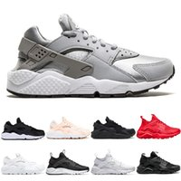 Classical Huarache 4.0 1.0 Designer zapatos Running Shoes Men Women Grey Black White Chaussures Mens Trainers Sports Sneakers Size 36-45