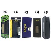 Пользовательский логотип Vape картриджей упаковочной коробки восковыми Новые телеги бумажный пакет косметический E сигареты блистерной упаковки труб голографические наклейки