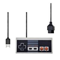 Per NES Wired USB Controller Gamepad PC / USB / NES Computer Videogiochi Mando Maniglia Retro USB per NES Joystick Solole