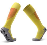 мужчины Дозирование Противоскользящего футбола носок утолщенного полотенце дна колено носки удобных дышащие носки прямого фитнес yakuda спорт