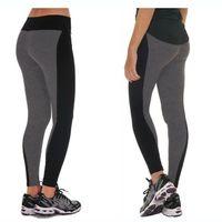 78db20406912f New Style 2017 Summer Autumn Women's Leggings Fashion Patchwork High Waist  Elastic Fitness Workout Leggings