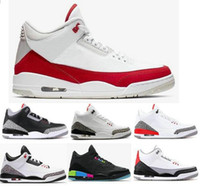 2019 Red Tinker Mocha 3s Black Cement Pure retros retro Whit...