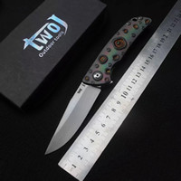 Twój di alta qualità 3501 Flipper Pocket coltello pieghevole coltelli S35VN maniglia lama TC4 di sopravvivenza della lama di campeggio di EDC Strumenti Xmas coltelli da caccia regalo