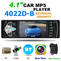 4022D autoradio MP5 Player Bluetooth USB TF AUX Radio in precipitare Ricevitore Sostenere Immagine Inversione e uscita video