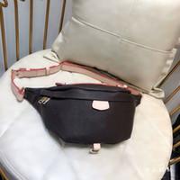 Designer de luxo Mulheres Cross Belt Corpo Bag Autn Material Sacos de Cintura Bumbag Cross Leather Fanny Pack Bum Sacos de Cintura