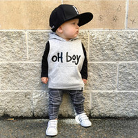 Hooded baby boy boutiques clothing kids causal wear rompers ...