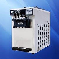 Low-Cost-Verkauf von Edelstahl-Drei Geschmack Softeis Maschine kommerzieller Eismaschine Herstellungsmaschine