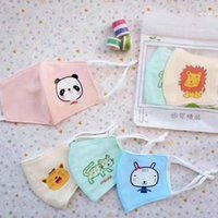 Kids Reusable Cartoon Face Masks Cloth Breathing Mouth Mask ...