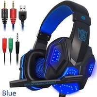 gaming headset Wired Gamer headphones Stereo Sound Over Ear ...