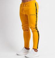 Herren Jogger Freizeithosen Fitness Herren Sportswear Trainingsanzug Hosen Skinny Sweatpants Hosen Black Gyms Jogger Track Pants