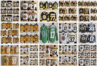 Boston Bruins Jesey Bobby Orr Phil Esposito Cam Neely Zdeno Chara Terry O'Reilly Lucic Sarı Siyah Vintage CCM Erkekler Dikişli Hokey Formaları