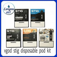 VGOD STIG Disposable Pod Device 3Pcs Pack 270mAh Battery 1. 2...