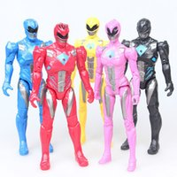 5PCS Lot 17cm Action Figure Dinosaur team Model Power Action...