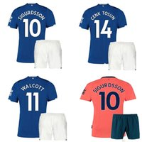 19 20 Everton Maglie da calcio Pantaloncini Home Away Kit 2019/20 SIGURDSSON RICHARLISON WALCOTT Maglie e pantaloni da calcio Uniforme da calcio uomo